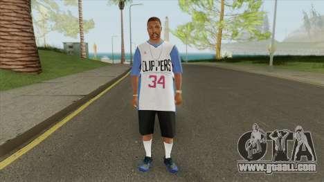 Crips Gang Member V6 for GTA San Andreas