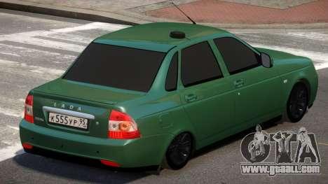 Lada Priora 2170 V2.1 for GTA 4