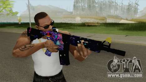 M4A4 (Glass Queen) for GTA San Andreas