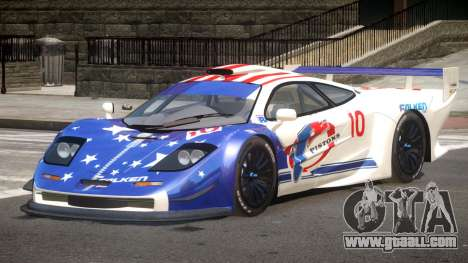 McLaren F1 G-Style PJ3 for GTA 4