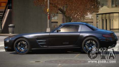 Mercedes Benz SLS AMG IS for GTA 4