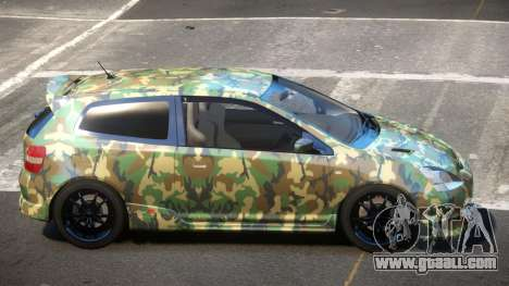 Honda Civic Type R-Tuned PJ6 for GTA 4