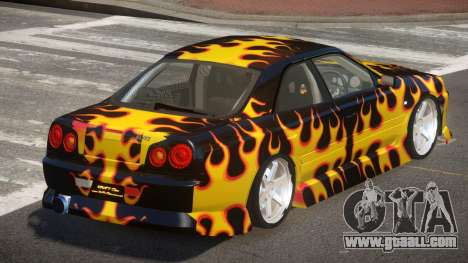 Nissan Skyline R34 SRS PJ3 for GTA 4