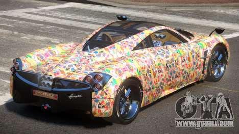 Pagani Huayra GBR PJ5 for GTA 4