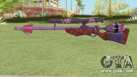 Stylized Dart Sniper for GTA San Andreas