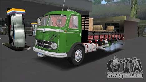 Truck Mercedes-Benz LP 321 1959 for GTA San Andreas