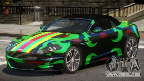 Aston Martin DBS LT PJ5 for GTA 4
