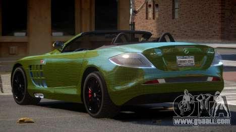 Mercedes-Benz SLR RTF PJ4 for GTA 4