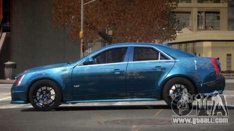 Cadillac CTS-V LR PJ4 for GTA 4