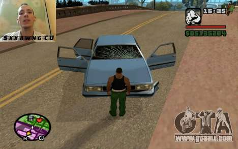Repair your vehicle for GTA San Andreas