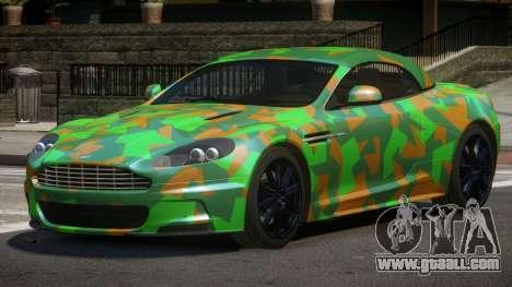 Aston Martin DBS RT PJ4 for GTA 4