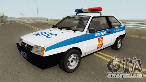 VAZ 2108 DPS (MQ) for GTA San Andreas