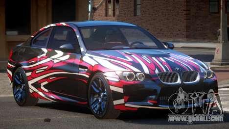 BMW M3 E92 LR PJ5 for GTA 4