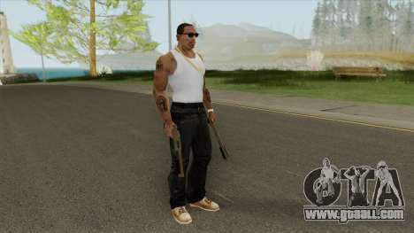 Sawed-Off Shotgun GTA V (Army) for GTA San Andreas