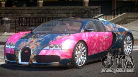 Bugatti Veyron 16.4 RT PJ4 for GTA 4