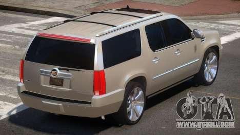 Cadillac Escalade E-Style for GTA 4