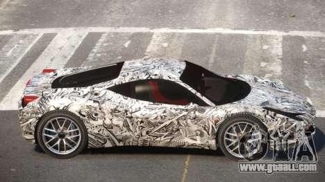 Ferrari 458 Qz PJ4 for GTA 4
