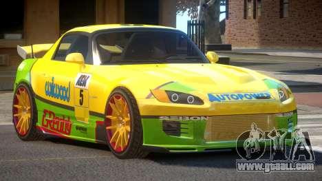 Honda S2000 GEN PJ6 for GTA 4