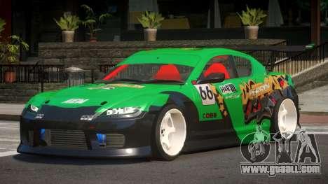 Mazda RX8 S-Tuned PJ6 for GTA 4