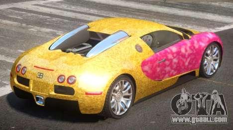 Bugatti Veyron 16.4 RT PJ6 for GTA 4