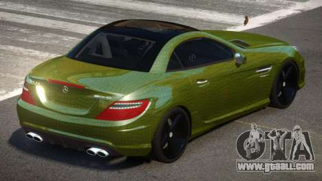 Mercedes Benz SLK Qz PJ4 for GTA 4
