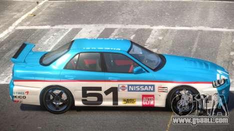 Nissan Skyline R34 D-Style PJ5 for GTA 4