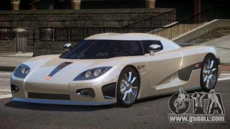 Koenigsegg CCX S-Tuned for GTA 4