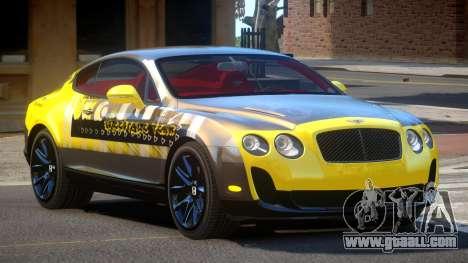 Bentley Continental RT PJ3 for GTA 4