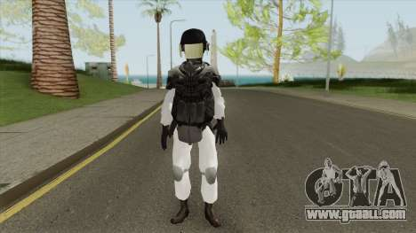 Containment Breach Guard (SCP) for GTA San Andreas