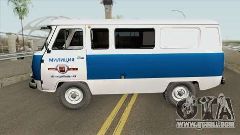 UAZ 3962 (Municipal Police) for GTA San Andreas