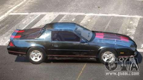 Chevrolet Camaro IR PJ4 for GTA 4