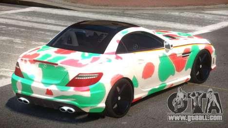 Mercedes SLK55 RG38 PJ5 for GTA 4