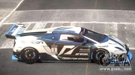 Lamborghini Gallardo LP560 SR PJ2 for GTA 4