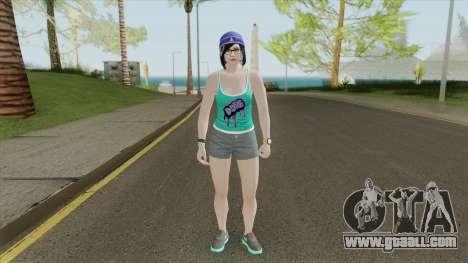 Random Female V17 (GTA Online) for GTA San Andreas