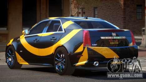 Cadillac CTS-V LR PJ3 for GTA 4