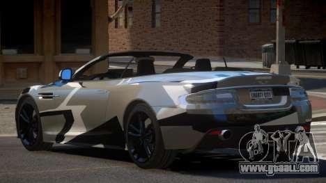 Aston Martin DBS Volante PJ6 for GTA 4