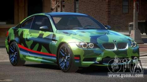BMW M3 E92 LR PJ3 for GTA 4