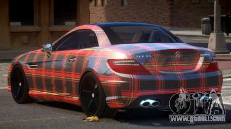 Mercedes Benz SLK Qz PJ6 for GTA 4