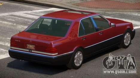 Mersedes Benz 500SE V1.3 for GTA 4