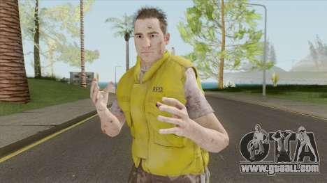Brad (RE3 Remake) for GTA San Andreas