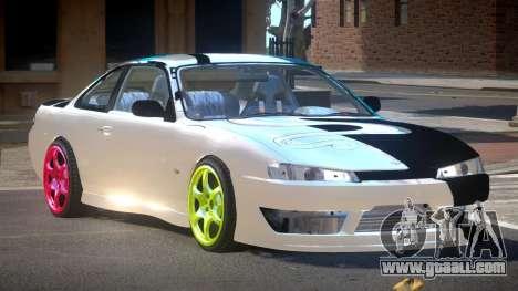 Nissan Silvia S14 D-Style PJ for GTA 4