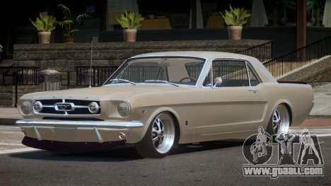 1963 Ford Mustang SR for GTA 4