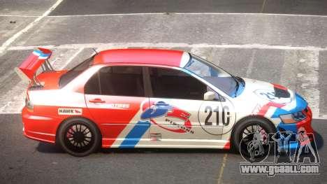 Mitsubishi Lancer S-Tuned PJ2 for GTA 4