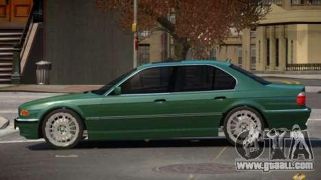 BMW 740I LS for GTA 4