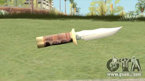 Knife LQ (Manhunt) for GTA San Andreas