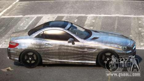 Mercedes SLK55 RG38 PJ6 for GTA 4