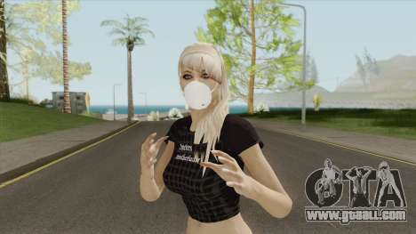COVID Girl for GTA San Andreas