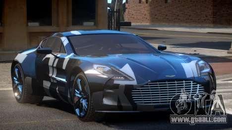 Aston Martin One-77 LS PJ2 for GTA 4