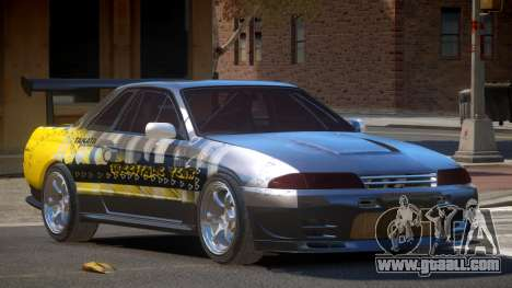 Nissan Skyline R32 D-Style PJ6 for GTA 4