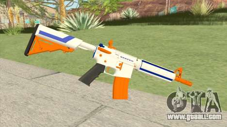 M4A4 (Nerfed) for GTA San Andreas